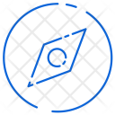 Compass Direction Device Icon
