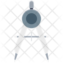 Compass Geometry Compass Divider Icon