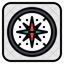 Compass Map Gps Icon