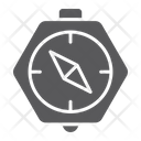 Compass Geography Direction Icon