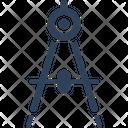 Compass Design Element Divider Icon