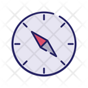 Compass Direction Device Direction Icon