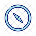 Compass Campas Direction Device Icon