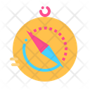 Compass Map Location Icon