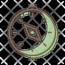 Qibla Compass Kaaba Icon