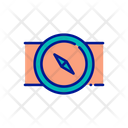 Compass Direction Tool Navigation Tool Icon