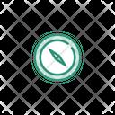 Compass Navigation Safari Icon