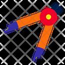 Compass Design Draw Icon