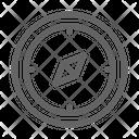 Compass Marine Nautical Icon