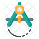 Compass Shape Tool Compass Tool Icon