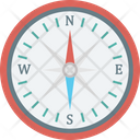 Compass Direction Finding Finding Destination Icon