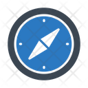 Direction Navigation Compass Icon