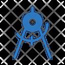 Compass Measure Protractor Icon