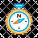 Compass Desert Sandy Icon