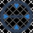 Compass Geo Location Location Icon