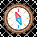 Navigational Compass Tool Icon