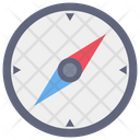 Map Direction Windrose Icon