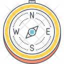 Mcompass Compass Direction Icon