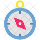 Summer Compass Location Icon