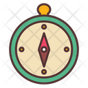 Compass Camping Map Icon