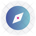 Interface Compass Direction Icon