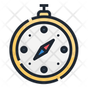 Compass Travel Navigation Icon