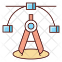Compass Perfection Mode Anchor Point Icon