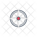 Compass Direction South Icon