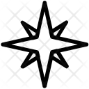 Compass Rose Windrose Icon
