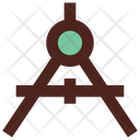 Compass Science Drawing Icon