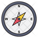 Compass Navigation Map Icon