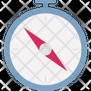 Area Boundary Compass Icon