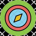 Compass Rose Navigation Icon