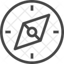 Compass Sides Icon