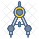 Compass Geometry Ruler Icon
