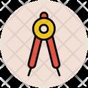 Compass Geometry Equipment Icon