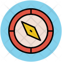 Compass Cardinal Points Icon