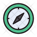 Compass Direction Kaaba Icon
