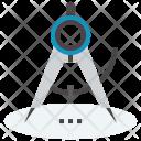 Compass Precision Geometry Icon