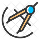 Compass Period Math Icon