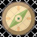 Compass Travel Tourist Icon