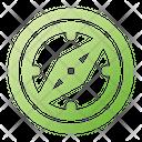 Compass Travel Navigation Icon