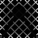 Compass Geometrical Tool Icon