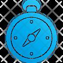 Compass Navigation Tool Icon