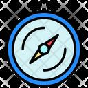 Compass Navigation Logistic Icon
