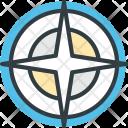 Compass Navigational Gps Icon