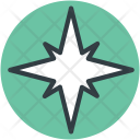 Compass Rose Wind Icon