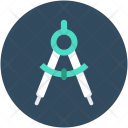 Compass Drawing Tool Icon