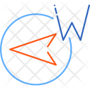 Compass West Direction Icon