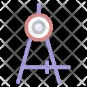 Compass Circular Circles Icon